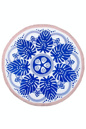 Bambury Printed Round Towel
