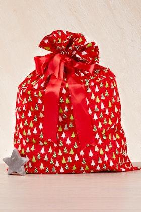 Annabel Trends Printed Santa Sack