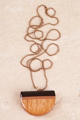 Ra-Ra Jewellery Hand Painted Pendant Necklace