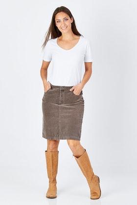 Jump Corduroy Skirt