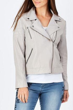 Jump Leather Jacket