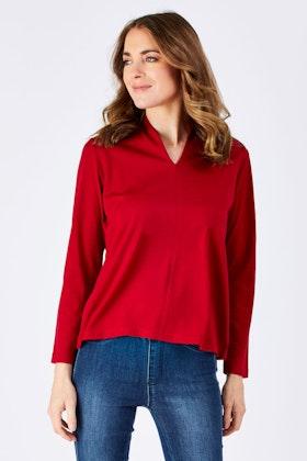 Merino Essentials Merino Wool Knit Top