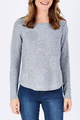 FOIL Spin Me Round Sweater