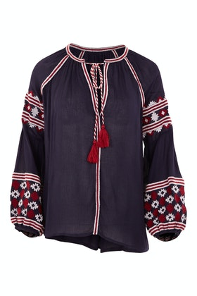 Solito Talbot Embroiderd Top