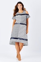 Threadz Star Stripe Dress