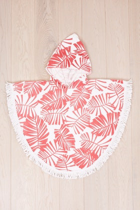 Bambury Printed Shaped Poncho Pal