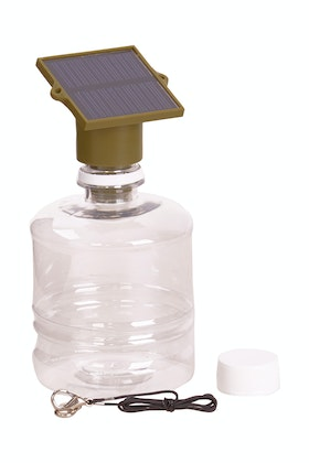IS Gifts Solar Powered Bottle Light