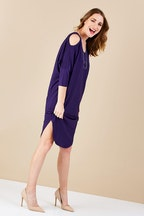 bird keepers The Shoulder Splice Bounce Dress