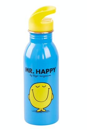 Wild & Wolf Mr Happy Water Bottle