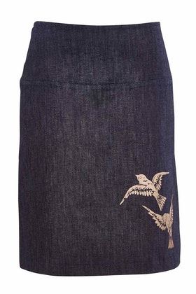 Essaye 2 Birds Short Panel Skirt