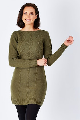 Hatley Cable Knit Dress