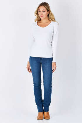 Lola Jeans Rebeccah High Rise Straight