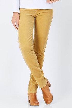 Vassalli Skinny Leg Pull On  Cord Legging