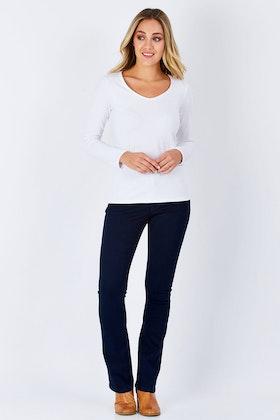 Lola Jeans Lauren Mid Rise Boot Cut