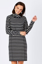 Yarra Trail Stripe Knit Dress