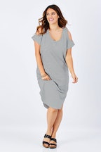 bird keepers The Shoulder Splice Dress