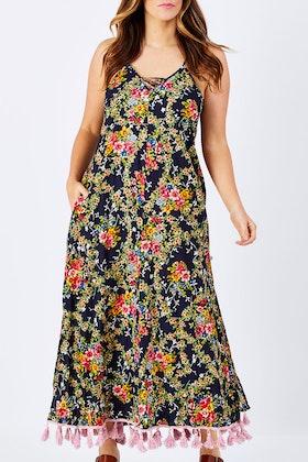 Naudic Criss Cross Maxi Dress
