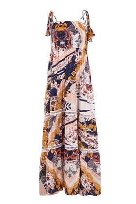 Jaase Valentina Peach Maxi Dress