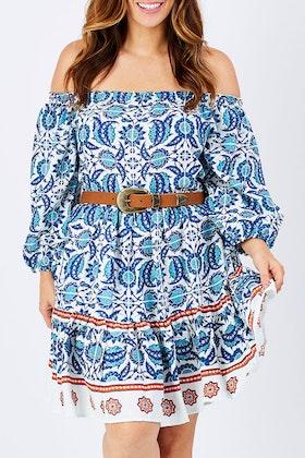 Solito Yasmine Tier Dress