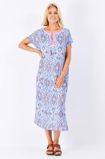 96da57b773 Boom Shankar 50s dresses Malu Kaftan - Womens Calf Length Dresses ...
