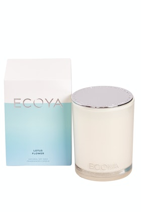 Ecoya Madison Jar Lotus Flower Candle