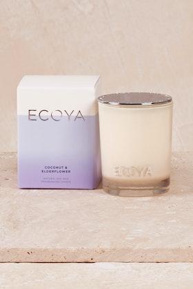 Ecoya Mini Madison Coconut & Elderflower Candle