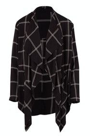 The Check Waterfall Jacket
