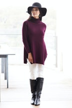 bird by design The Roll Neck Knit Tunic
