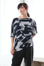bird by design The Side Drape Blouse