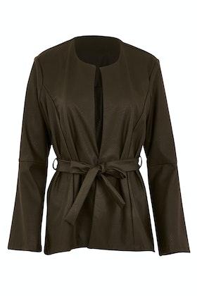 Belle bird Belle Leatherette Jacket