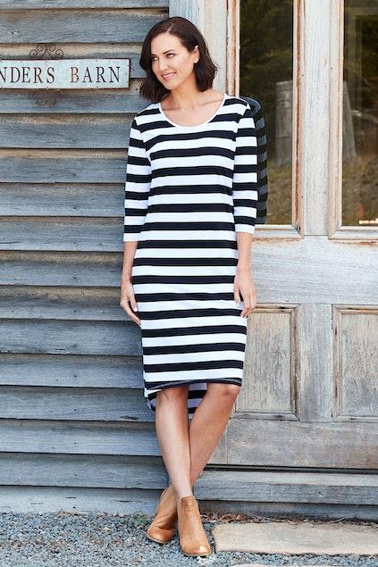 4050a6494acc bird keepers The High Low Midi Dress - Womens Knee Length Dresses ...