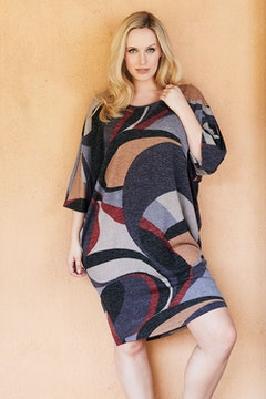 Belle Abstract Knit Dress