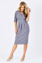bird keepers The V Neck Tulip Dress