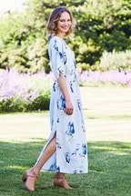 that bird label Rachel  Maxi Dress Flock