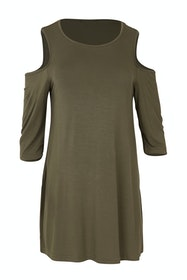 The Cut Out Shoulder Tunic