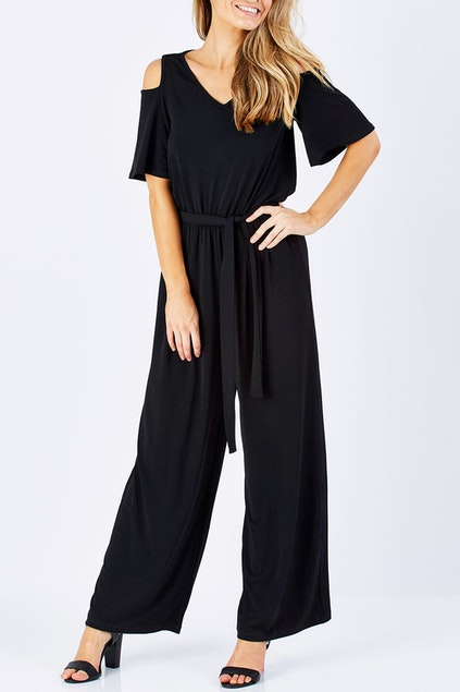 488fdbd8ae3c bird keepers The Cut Out Shoulder Jumpsuit - Womens Jumpsuits ...