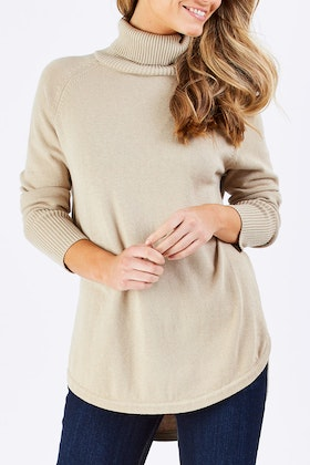 bird keepers The Roll Neck Knit