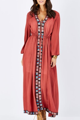 boho bird Wild Safari Dress
