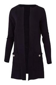The Eyelet Knit Coat