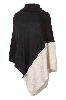 bird keepers The Panel Knit Poncho