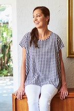 handpicked by birds Gingham Top