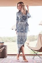 boho bird Ashanti Dress