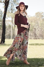 boho bird Stay Forever Skirt