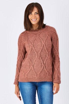 JAG Mia Cable Knit