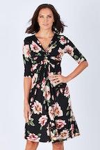 Rebecca Ruby Selena Twist Front Dress
