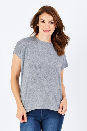 Sass James Laced Back Top