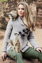 boho bird Watching The Herd Cardi