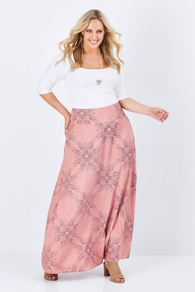 that bird label Rosie Maxi Skirt Moth