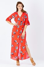 Sass Winter Blooms Maxi Dress