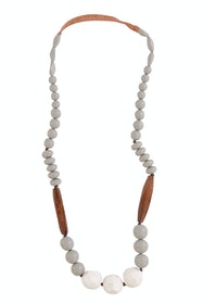 Serene Drop Long Necklace